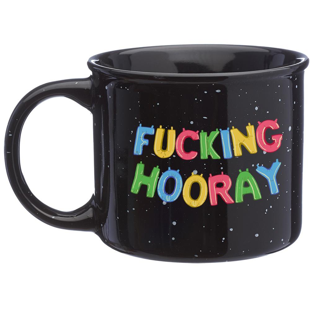 Fucking Hooray Black Camp Mug
