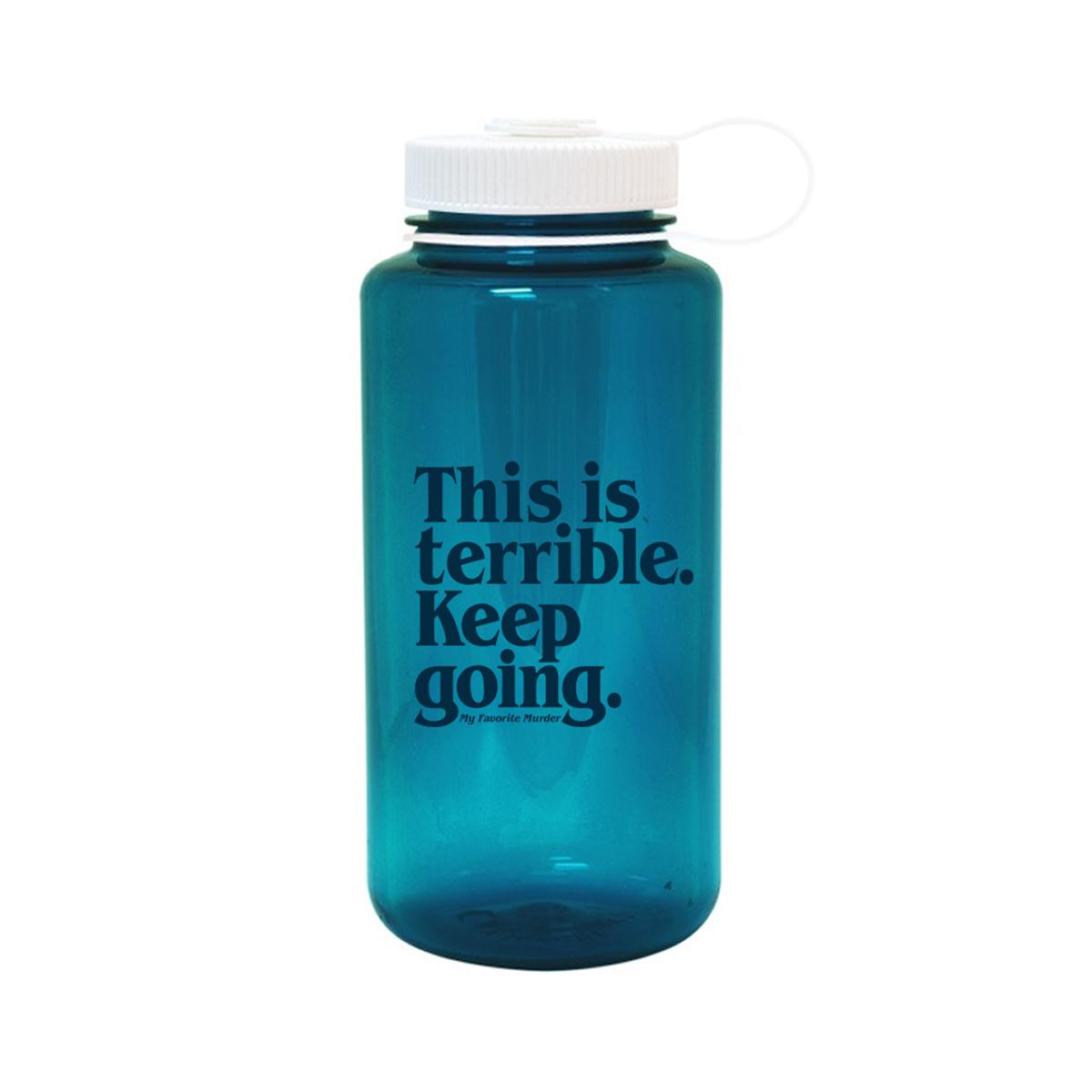 Keep Going Nalgene Water Bottle