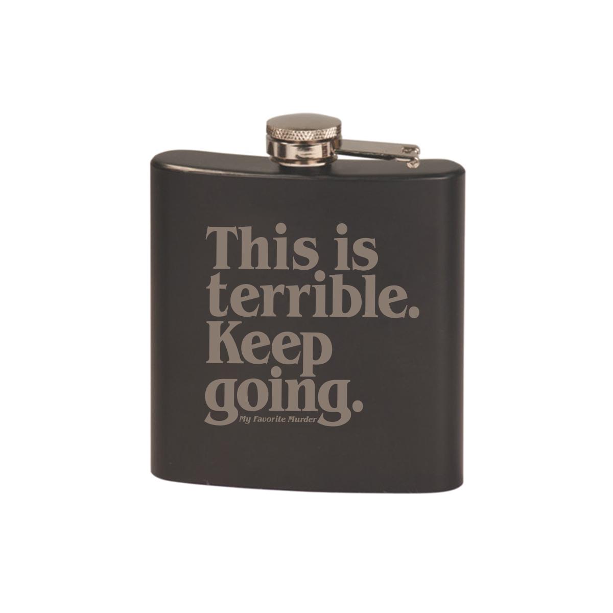Keep Going Flask
