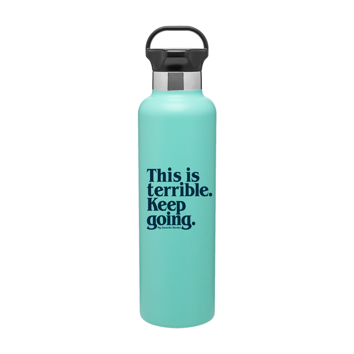 Keep Going Insulated Bottle