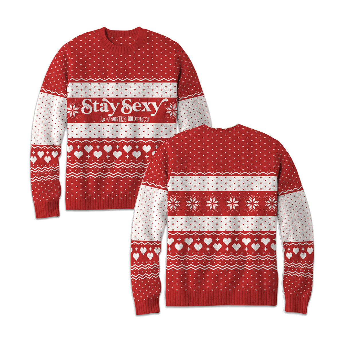 Stay Sexy Woven Sweater