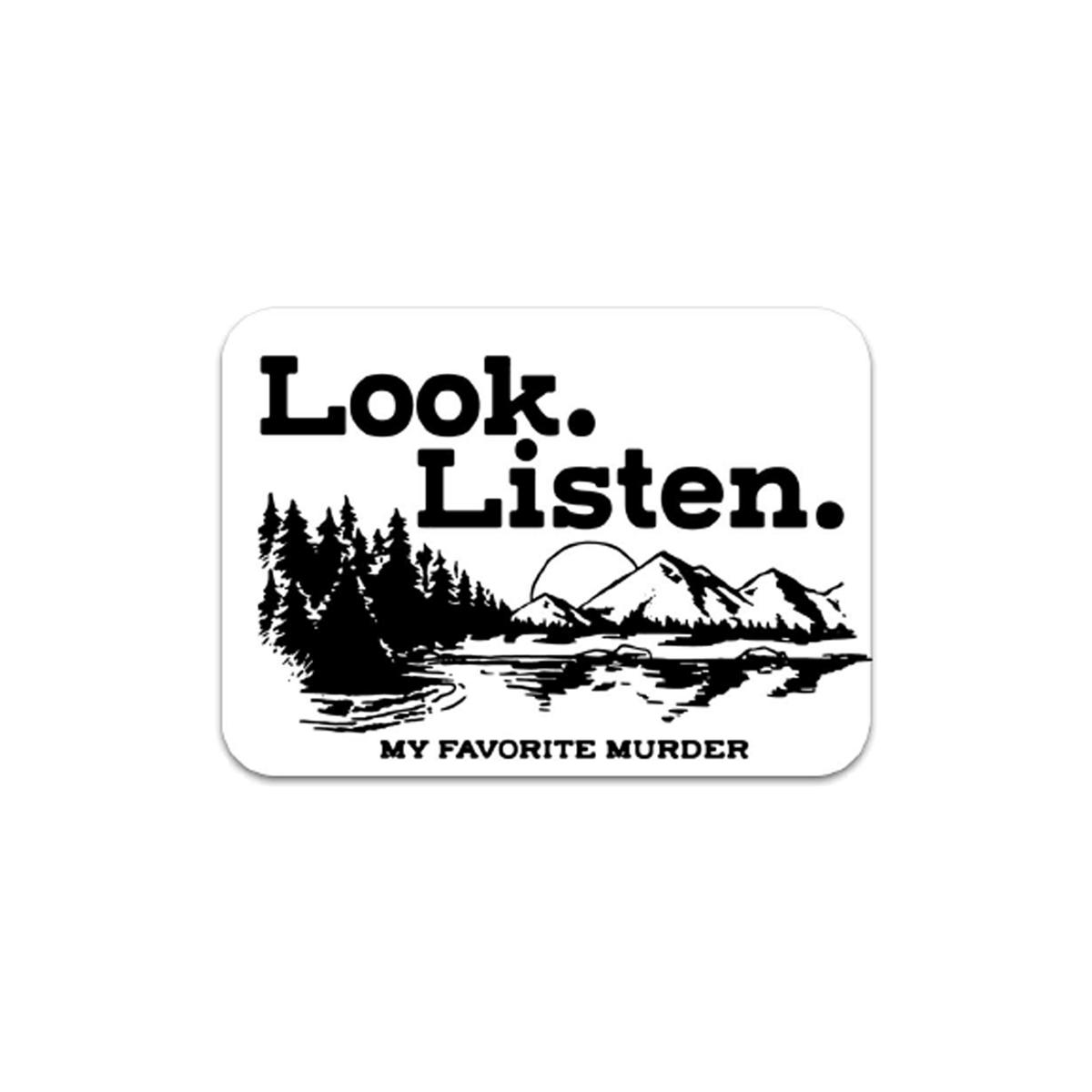Look Listen Sticker
