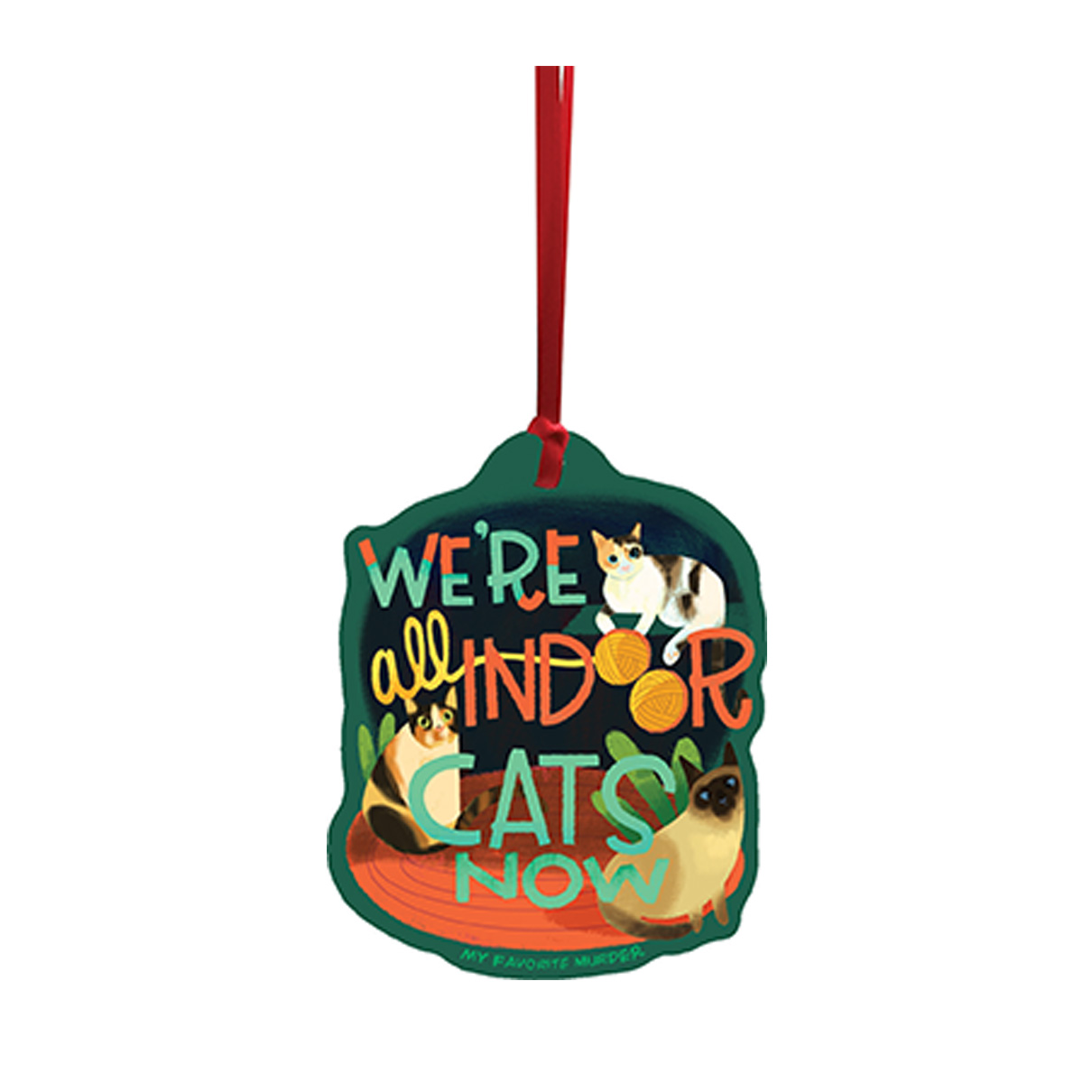 Indoor Cats Ornament
