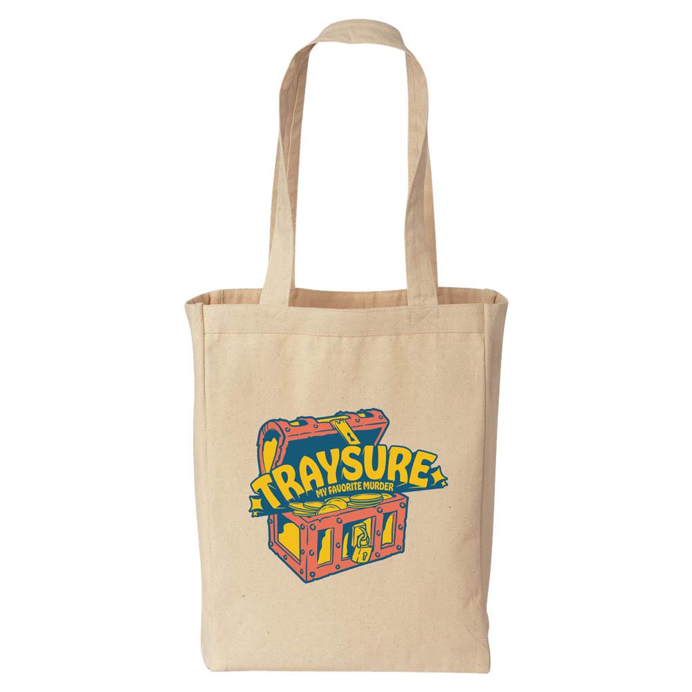 Traysure Natural Tote Bag