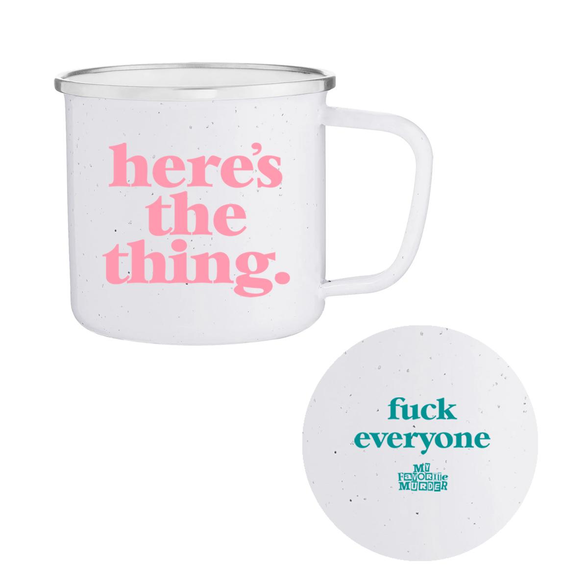 Here's the Thing Mug (White)