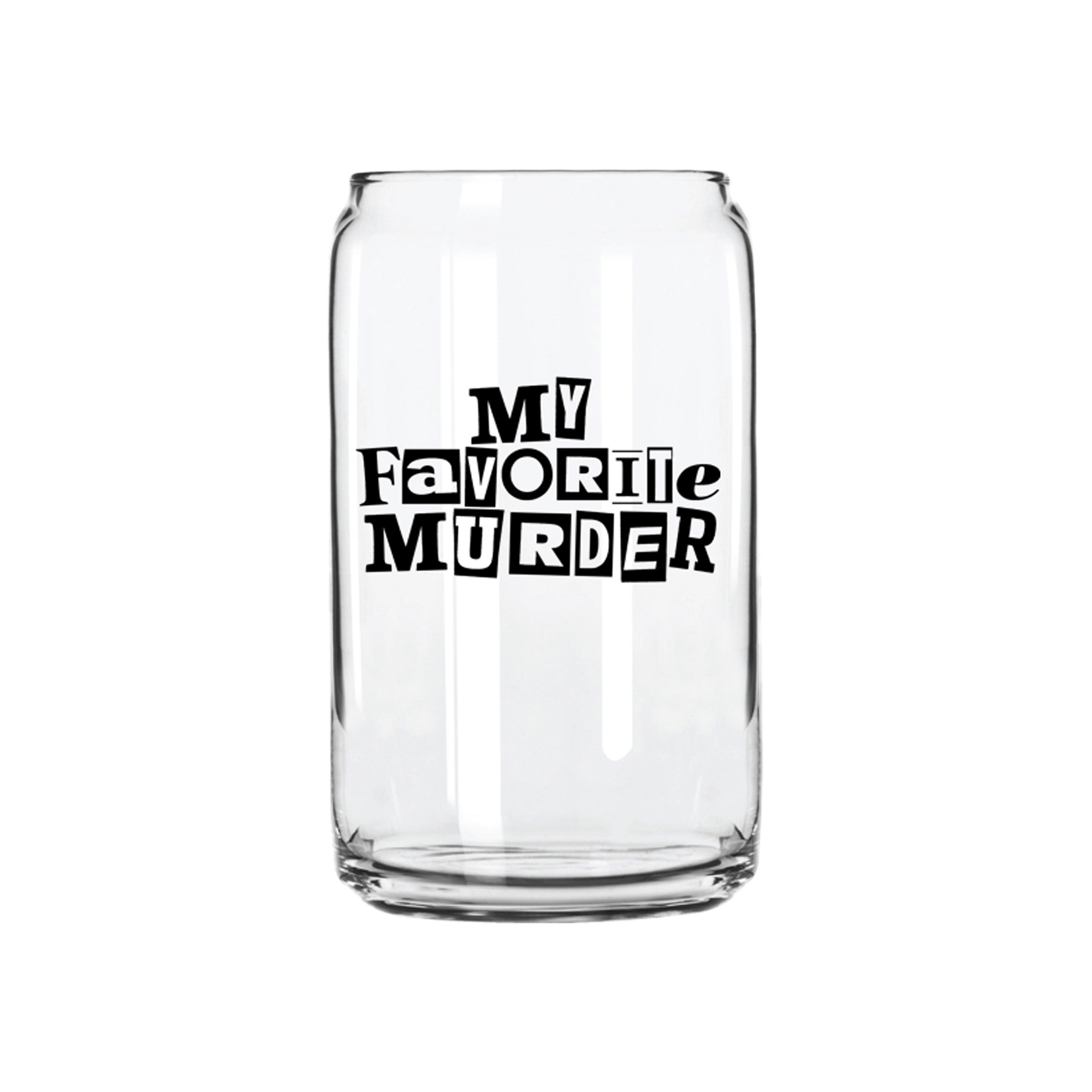 Logo Can Pint Glass