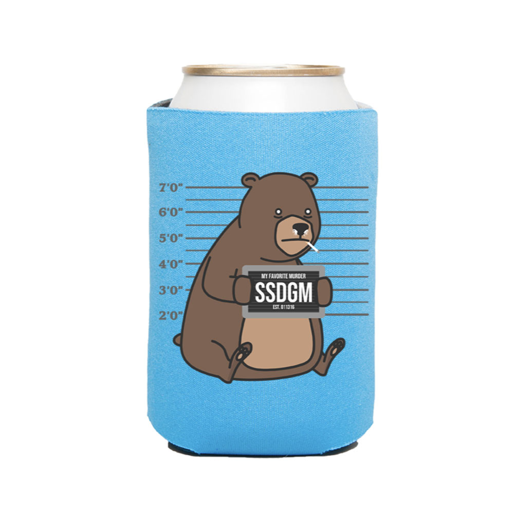 Cocaine Bear Koozie