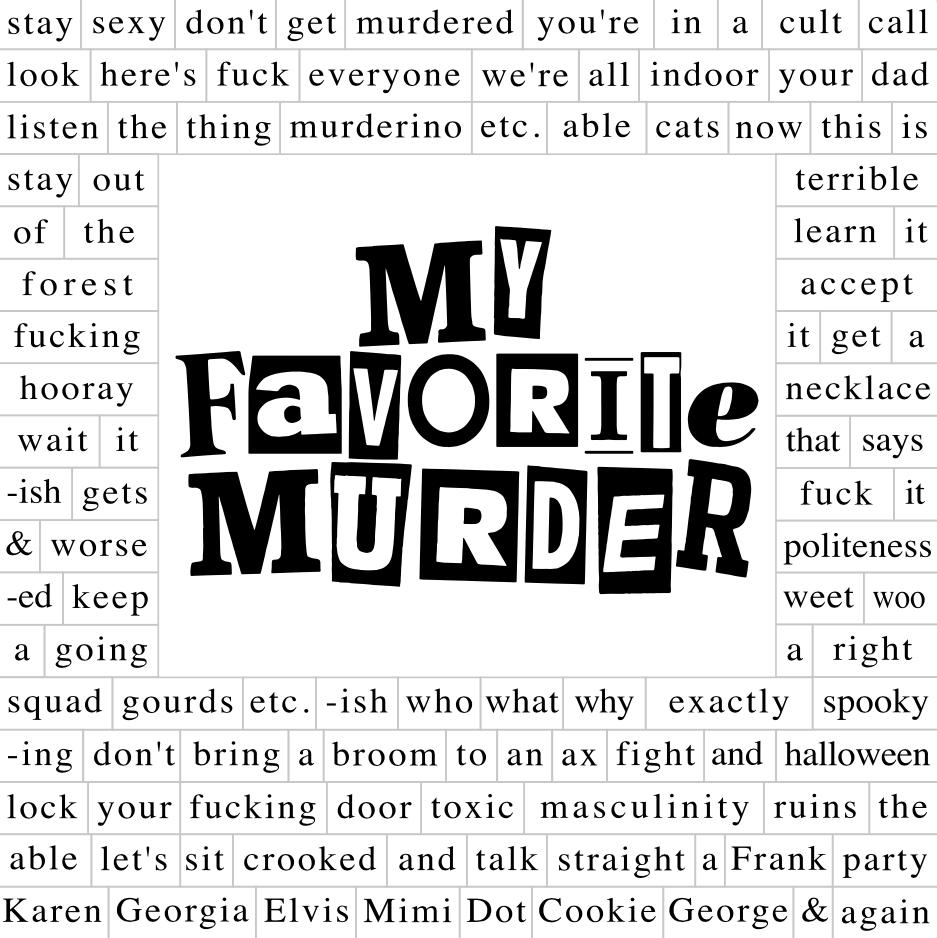 MFM Words Magnet Set